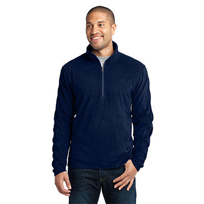 Port Authority Mens Microfleece 1/2-Zip Pullover - EZ Corporate Clothing  - 3