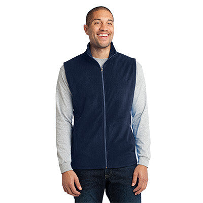 Port Authority Mens Microfleece Vest - EZ Corporate Clothing  - 3
