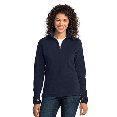 Port Authority Ladies Microfleece 1/2 Zip Pullover - EZ Corporate Clothing  - 5