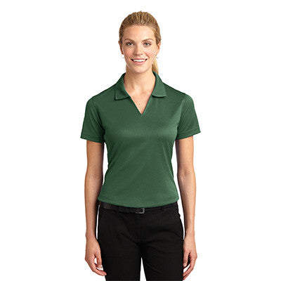 Sport-Tek Ladies Dri-Mesh V-Neck Sport Shirt - EZ Corporate Clothing  - 6