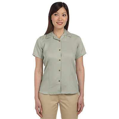 Harriton Ladies Bahama Cord Camp Shirt - EZ Corporate Clothing  - 6