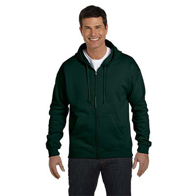 Hanes Adult ComfortBlend EcoSmart Full-Zip Hoodie - EZ Corporate Clothing  - 4