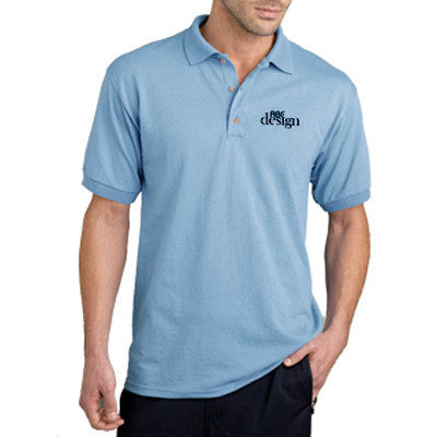 Gildan Adult Dryblend Jersey Polo - Printed - EZ Corporate Clothing  - 1