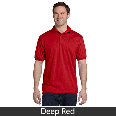 Hanes Adult Comfortblend Ecosmart Jersey Polo - Printed - EZ Corporate Clothing  - 7
