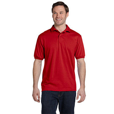 Hanes 5.5oz, 50/50 Jersey Knit Polo - EZ Corporate Clothing  - 10