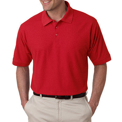 UltraClub Mens Tall Whisper Pique Polo - EZ Corporate Clothing  - 8