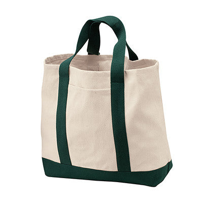 Port & Company Two-Tone Shopping Tote - EZ Corporate Clothing  - 5