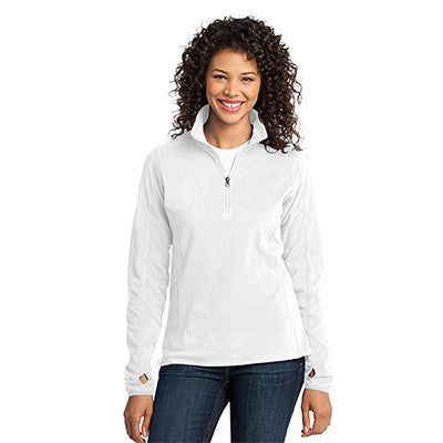 Port Authority Ladies Microfleece 1/2 Zip Pullover - EZ Corporate Clothing  - 7