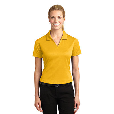 Sport-Tek Ladies Dri-Mesh V-Neck Sport Shirt - EZ Corporate Clothing  - 7