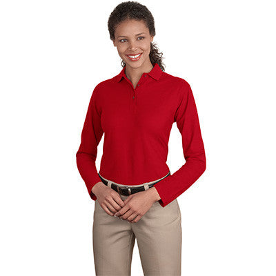 Port Authority Ladies Silk Touch Longsleeve Sport Shirt - EZ Corporate Clothing  - 6