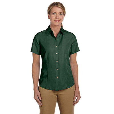 Harriton Ladies Barbados Textured Camp Shirt - EZ Corporate Clothing  - 8