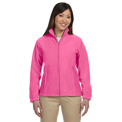 Harriton Ladies 8oz. Full-Zip Fleece - EZ Corporate Clothing  - 4