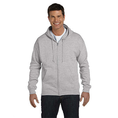 Hanes Adult ComfortBlend EcoSmart Full-Zip Hoodie - EZ Corporate Clothing  - 7