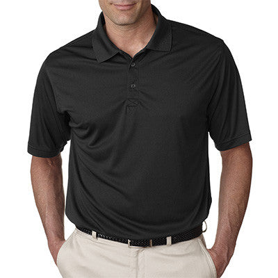 UltraClub Mens Cool-n-Dry Sport Performance Interlock Polo - EZ Corporate Clothing  - 2