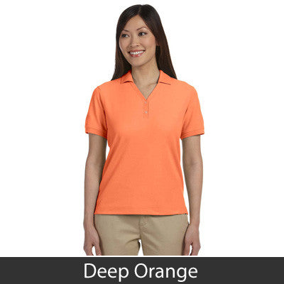Devon & Jones Ladies Pima Pique Short-Sleeve Y-Collar Polo - EZ Corporate Clothing  - 6