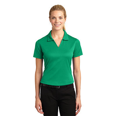Sport-Tek Ladies Dri-Mesh V-Neck Sport Shirt - EZ Corporate Clothing  - 8