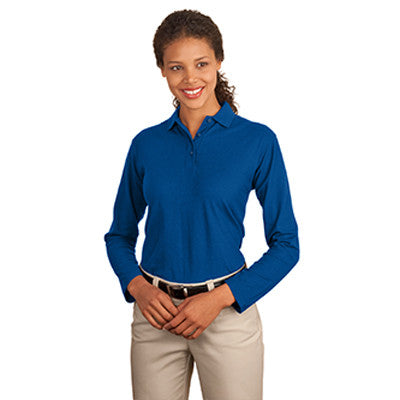 Port Authority Ladies Silk Touch Longsleeve Sport Shirt - EZ Corporate Clothing  - 7