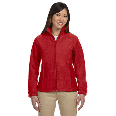 Harriton Ladies 8oz. Full-Zip Fleece - EZ Corporate Clothing  - 8
