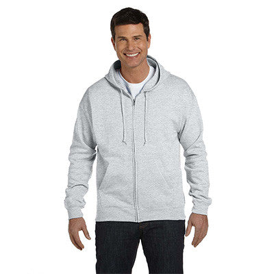 Hanes Adult ComfortBlend EcoSmart Full-Zip Hoodie - EZ Corporate Clothing  - 2