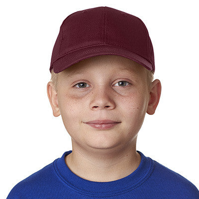 UltraClub Youth Classic Cut Cotton Twill Cap - EZ Corporate Clothing  - 8