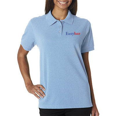 UltraClub Ladies Classic Pique Polo - EZ Corporate Clothing  - 1