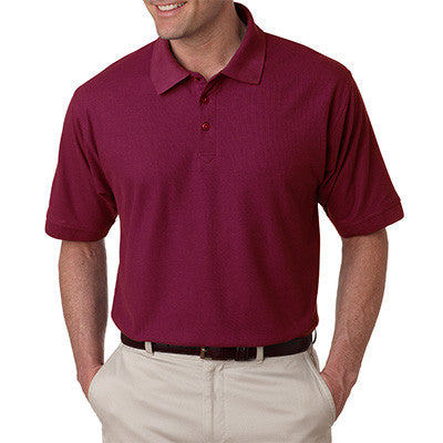 UltraClub Mens Tall Whisper Pique Polo - EZ Corporate Clothing  - 11