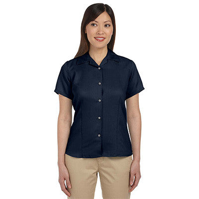 Harriton Ladies Bahama Cord Camp Shirt - EZ Corporate Clothing  - 7