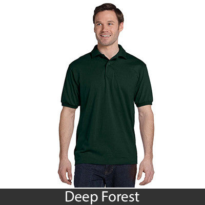 Hanes Adult Comfortblend Ecosmart Jersey Polo - Printed - EZ Corporate Clothing  - 6