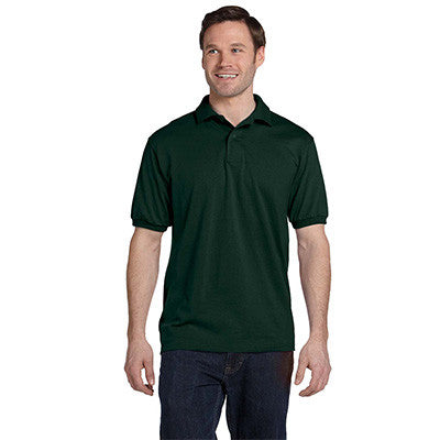Hanes 5.5oz, 50/50 Jersey Knit Polo - EZ Corporate Clothing  - 8