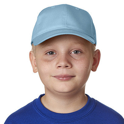 UltraClub Youth Classic Cut Cotton Twill Cap - EZ Corporate Clothing  - 7