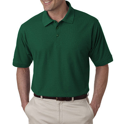 UltraClub Mens Tall Whisper Pique Polo - EZ Corporate Clothing  - 4