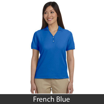 Devon & Jones Ladies Pima Pique Short-Sleeve Y-Collar Polo - EZ Corporate Clothing  - 10