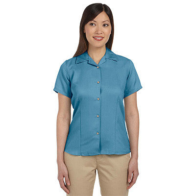 Harriton Ladies Bahama Cord Camp Shirt - EZ Corporate Clothing  - 4