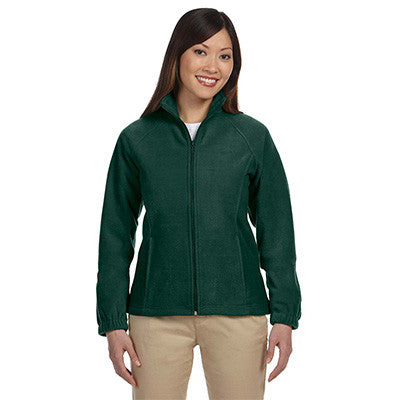 Harriton Ladies 8oz. Full-Zip Fleece - EZ Corporate Clothing  - 6