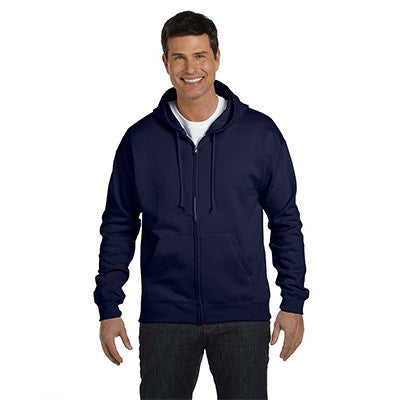 Hanes Adult ComfortBlend EcoSmart Full-Zip Hoodie - EZ Corporate Clothing  - 8