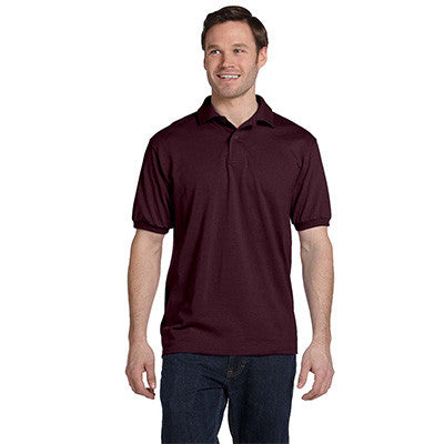 Hanes 5.5oz, 50/50 Jersey Knit Polo - EZ Corporate Clothing  - 14