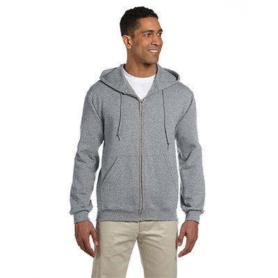 Jerzees Adult Super Sweats Full-Zip Hooded Sweatshirt - EZ Corporate Clothing  - 7