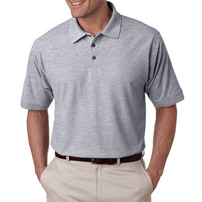 UltraClub Mens Tall Whisper Pique Polo - EZ Corporate Clothing  - 6