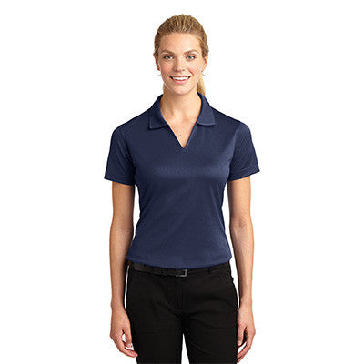 Sport-Tek Ladies Dri-Mesh V-Neck Sport Shirt - EZ Corporate Clothing  - 11