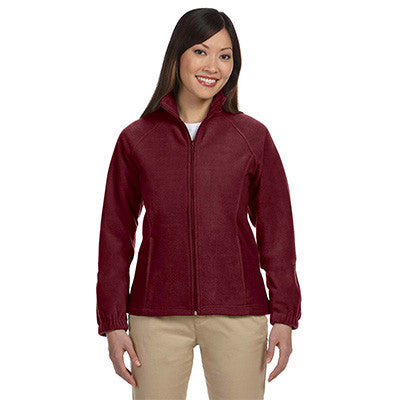 Harriton Ladies 8oz. Full-Zip Fleece - EZ Corporate Clothing  - 12
