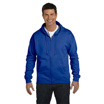 Hanes Adult ComfortBlend EcoSmart Full-Zip Hoodie - EZ Corporate Clothing  - 6