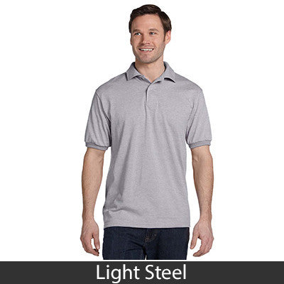 Hanes Adult Comfortblend Ecosmart Jersey Polo - Printed - EZ Corporate Clothing  - 11