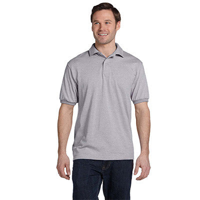 Hanes 5.5oz, 50/50 Jersey Knit Polo - EZ Corporate Clothing  - 13