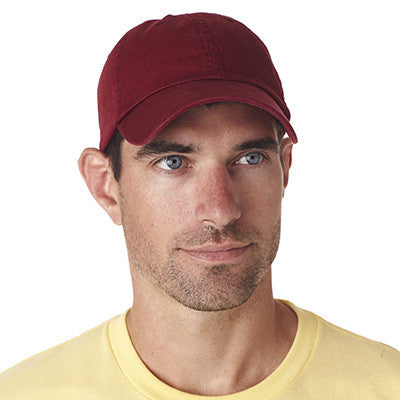 Ultraclub Classic Cut Chino Cotton Twill Unconstructed Cap - EZ Corporate Clothing  - 7