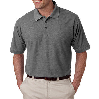 UltraClub Mens Tall Whisper Pique Polo - EZ Corporate Clothing  - 5