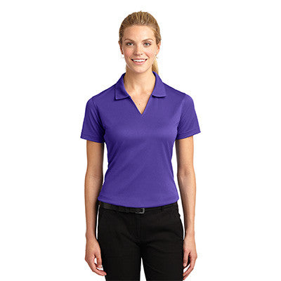 Sport-Tek Ladies Dri-Mesh V-Neck Sport Shirt - EZ Corporate Clothing  - 12