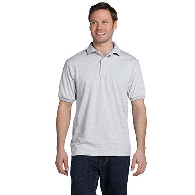 Hanes 5.5oz, 50/50 Jersey Knit Polo - EZ Corporate Clothing  - 5