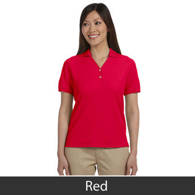 Devon & Jones Ladies Pima Pique Short-Sleeve Y-Collar Polo - EZ Corporate Clothing  - 16