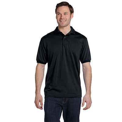 Hanes 5.5oz, 50/50 Jersey Knit Polo - EZ Corporate Clothing  - 3