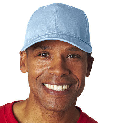 Ultraclub Adult Classic Cut Cotton Twill Cap - EZ Corporate Clothing  - 10